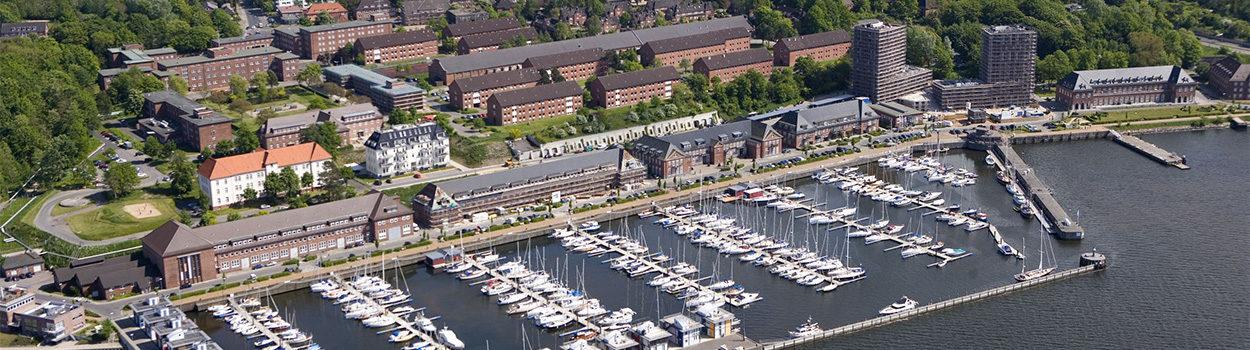 Luftaufnahme Sonwik, Flensburg