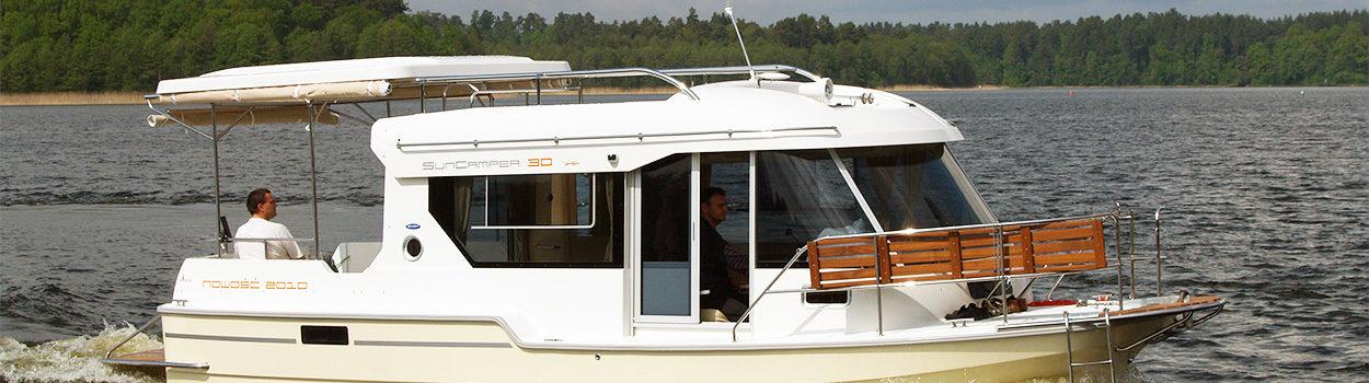 Motorboot SunCamper 30